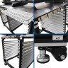 Máquina de serigrafía manual de 4 colores con rack de secado - Rack de secado