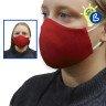 Mascarillas higiénicas 3D de colores para mujer - Ejemplo de uso