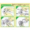 Cuchilla de recambio para cutter circular - Instrucciones