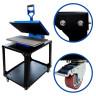 Mesa accesoria para Magnetic Star - Ejemplo de uso, rueda con freno y laterales atornillados