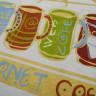 Tinta de serigrafía Efecto Metálico - Dorado 1