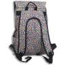 Mochilas con estampado multicolor - Detalle reverso mochila grande