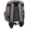 Mochilas con estampado multicolor - Detalle reverso mochila pequeña