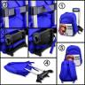 Mochilas trolley - Instrucciones para separar la mochila del carrito