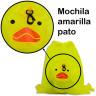 Mochilas plegables infantiles animales y colores - Detalle pato