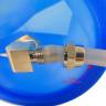 Molde de silicona para tazas de 11oz para Mini Horno de sublimación 3D - Con tubo para el vacío