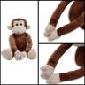 Mono de peluche - Cierre de velcro en las manos
