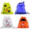 Mochilas plegables infantiles animales y colores - Ejemplo personalizadas