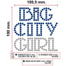 Diseño de pedrería Big City Girl