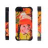 Funda carcasa 3D para iPhone 5 alta protección laterales