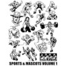 Cliparts Deportes y mascotas Vol. 1 - interior