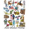 Cliparts Familia y vacaciones  - Interior
