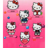 Parches bordados Hello Kitty Surtido 6 uds