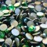 Pedrería de Cristal Octogonal Verde