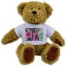 Peluche oso con camiseta para sublimación - Ejemplo de personalización