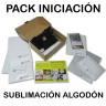 Pack de iniciación a la sublimación sobre algodón en A4