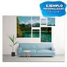 Paneles de aluminio blanco para sublimación BeautySub - Ejemplo de personalización