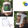 Pantallas protectoras faciales económicas - Ejemplo personalizado