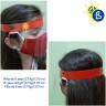 Pantallas protectoras faciales de colores para niños - Ejemplo personalizado