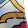 Pañuelo de tejido vaporoso de 100 x 100 cm - Detalle tejido estampado