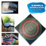 Pañuelos de tejido sedoso - Ejemplo de personalización