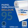 Papel sublimación en bobina Brildor 95 - De 111,8 cm x 100 m