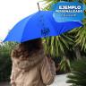 Paraguas para sublimación de material reciclado - Ejemplo personalizado