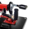 Plancha Combo Brildor BT-C8.2 - Detalle palanca de giro y palanca mecanismo de cierre