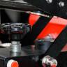 Plancha Transfer Brildor para Cintas 100x25 - Detalle sistema de apertura automático