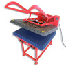 Plancha transfer Magnetic 5.1 de 100x80 - Detalle superior