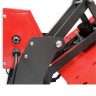 Plancha Transfer magnética Brildor XH-A3.1 de 40x50cm - Interruptor - Fusible