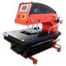 Plancha transfer neumática Brildor de 40x60cm - Vista frontal/lateral (cerrada)