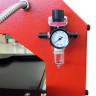 Plancha transfer neumática Brildor de 40x60cm - Manómetro