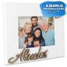 Portafotos de sobremesa Serie Abuelos - Ejemplo personalizado