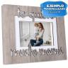 Portafotos de sobremesa Serie Ilenia - Ejemplo personalizado