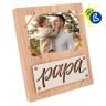 Portafotos de sobremesa Serie Mauro - Ejemplo de personalización