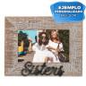 Portafotos de sobremesa Serie Sisters - Ejemplo personalizado