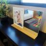 Portafotos con espejo y llavero magnético Serie Foligno - De sobremesa