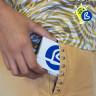 Portamascarillas plegable - Ejemplo de personalización y uso