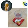 Posavasos alfombrilla para sublimación - Ejemplo personalizado y de uso