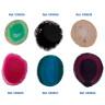 Posavasos para grabado láser de ágata - Referencias por color
