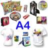 Propuesta de compra inicial personalizables para sublimación A4