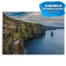 Puzzle de cartón para sublimación 96 piezas - Ejemplo personalizado paisaje