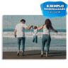 Puzzle de cartón para sublimación 96 piezas - Ejemplo personalizado familia