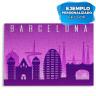 Puzzle de cartón para sublimación 96 piezas - Ejemplo personalizado souvenir