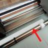 Recambio de base de corte de teflón para Plotter Silhouette Cameo y Portrait - Detalle aumentado del recambio en el plotter