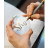 Rotuladores permanentes de punta fina Metálica Sharpie - Ejemplo uso sobre fondo claro