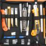Set de herramientas completo para rotulista - Detalle parte izquierda