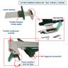 Sets de herramientas para corte en A4 y A3 - Cúter compás circular (Repuestos)