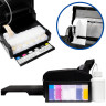 Sistema de impresión por transfer DTF - L805 - Depósitos rellenables y ajuste de formato de impresión